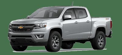 Silver Chevrolet Colorado