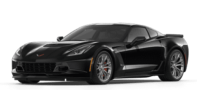 Black Chevrolet Corvette Z06
