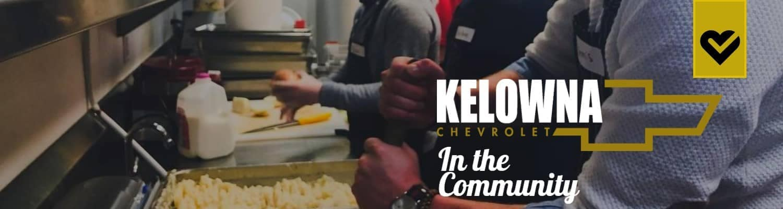 banner for Kelowna Chevrolet in the community