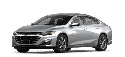 Silver Chevrolet Malibu