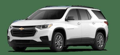 White Chevrolet Traverse