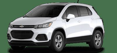 White Chevrolet Trax