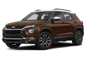 Brown Chevrolet Trailblazer