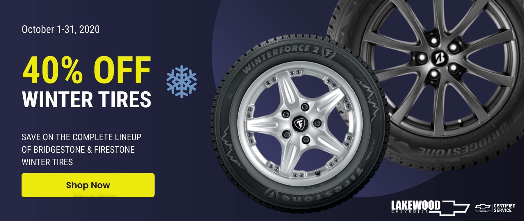 Lakewood Chevrolet - Winter Tires - October