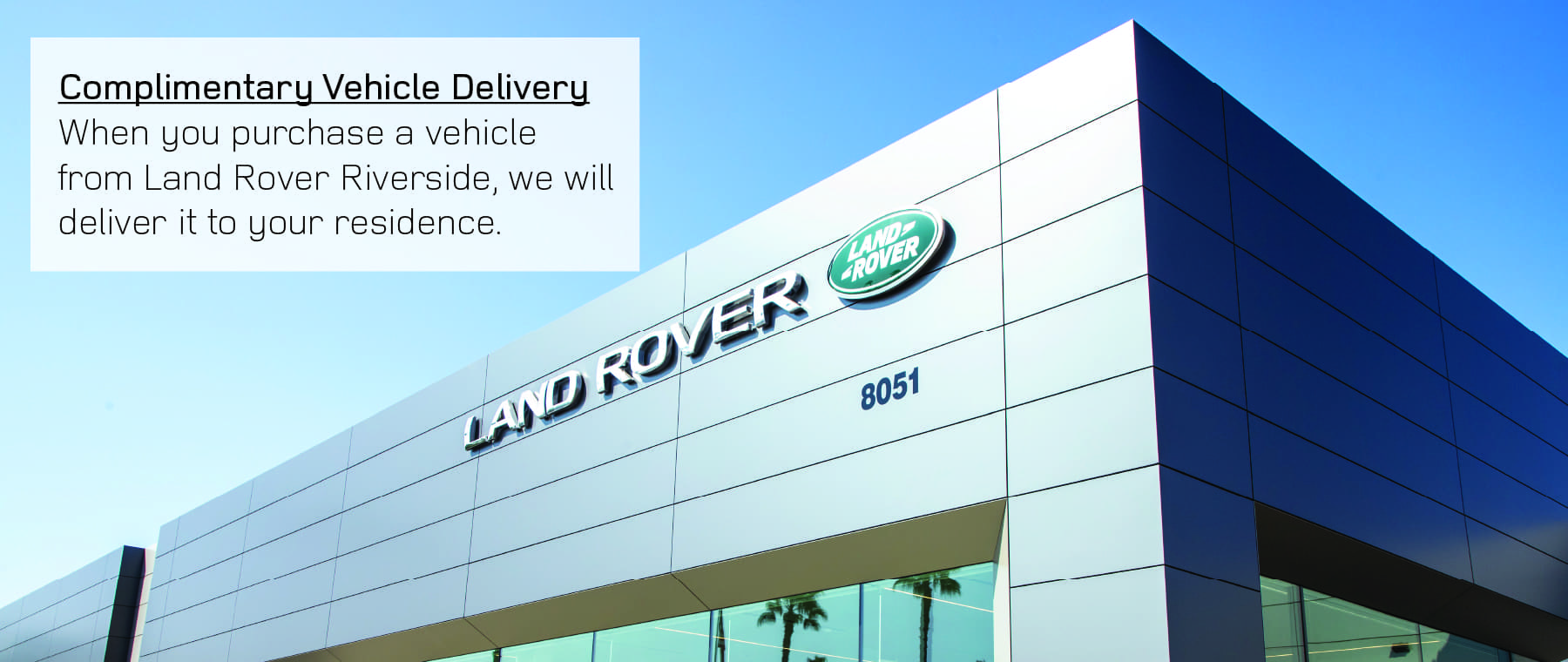 Land Rover Delivery