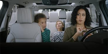 Land Rover Discovery Interior with Family
