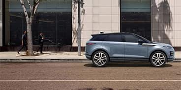 Range Rover Evoque Side View Riverside CA