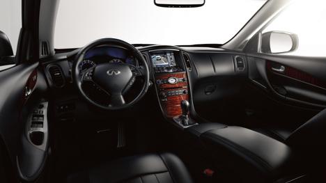 Front interior 2017 INFINITI QX50 AWD Premium