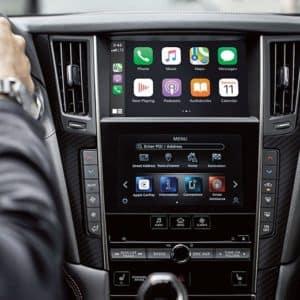 2021 INFINITI Q50 Apple CarPlay and Android Auto - Markham Infiniti