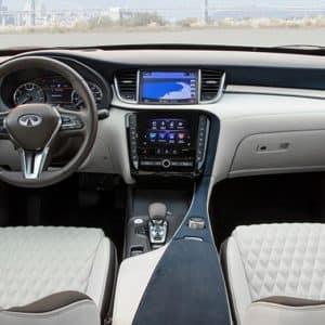 2021 INFINITI QX50 Interior Front - Markham Infiniti
