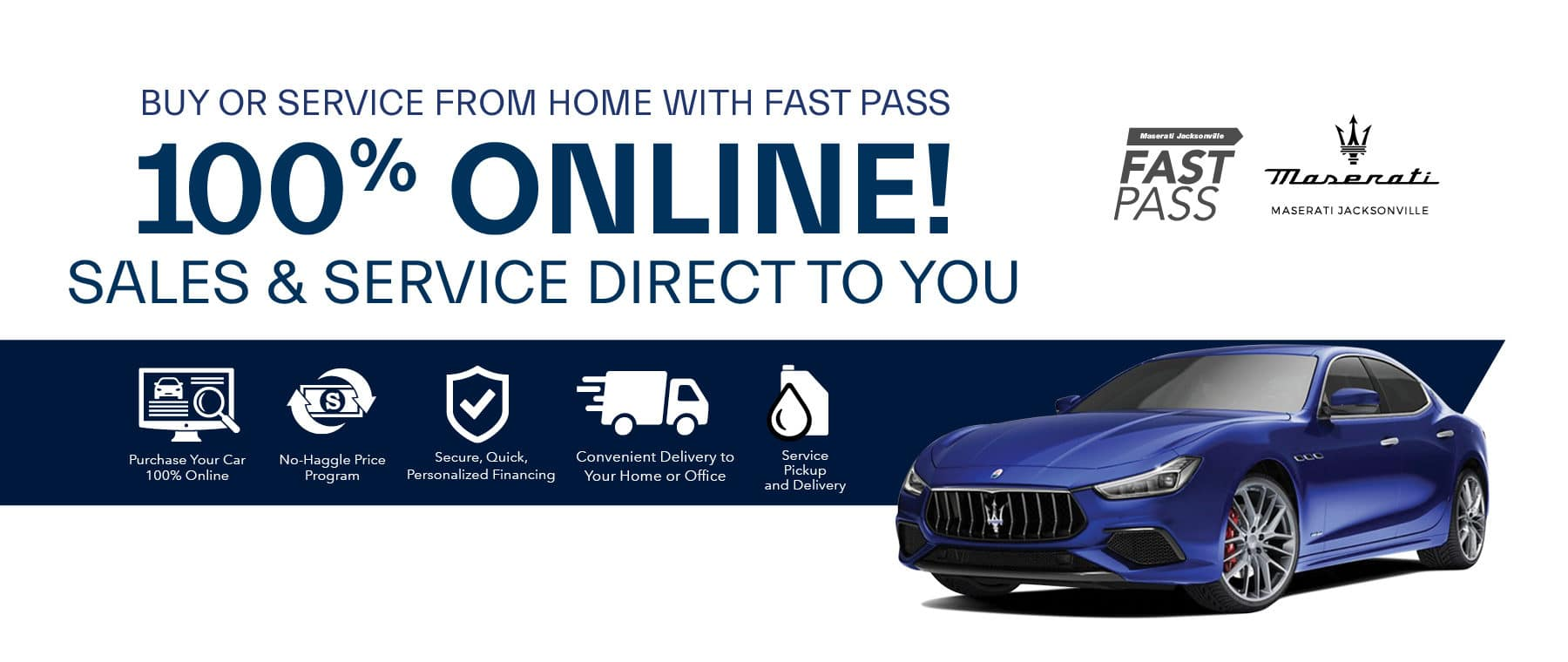 Fast Pass 100% Online Shopping