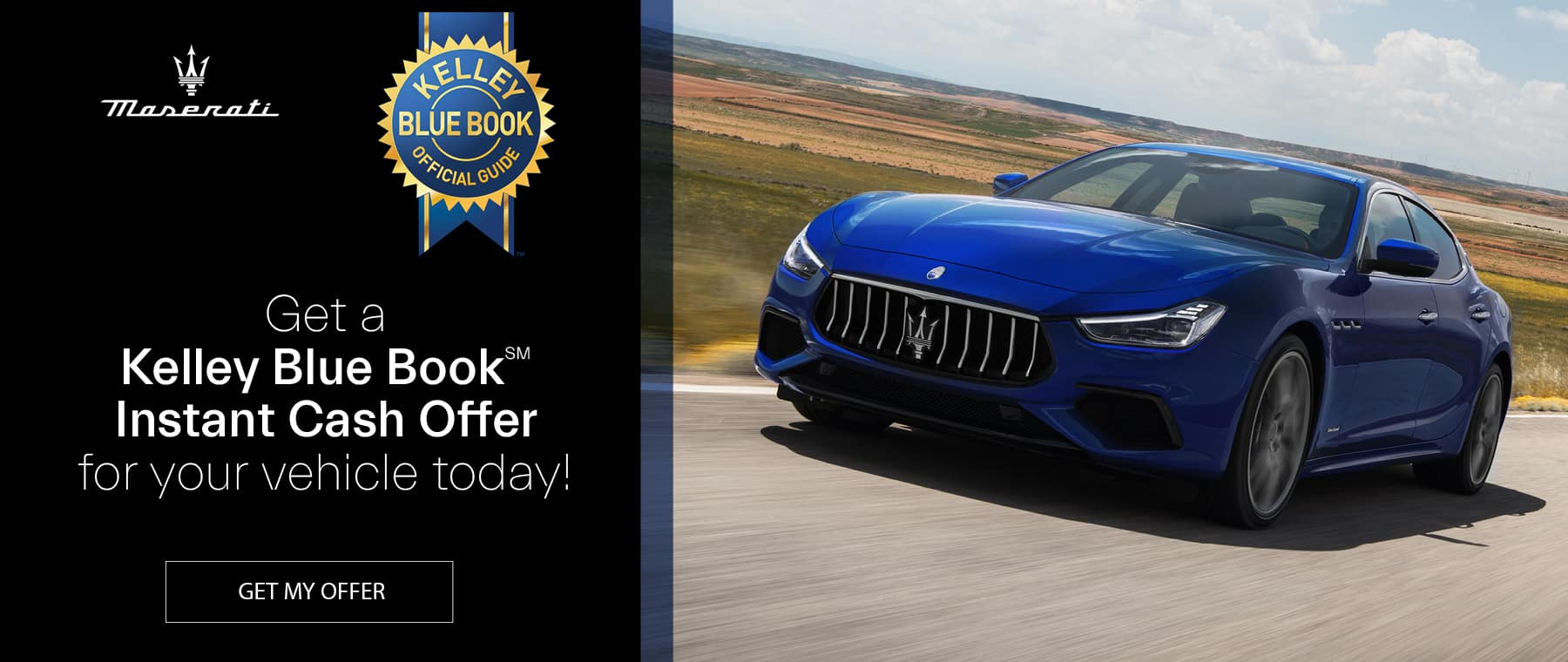 KBB Instant trade blue Maserati Jacksonville