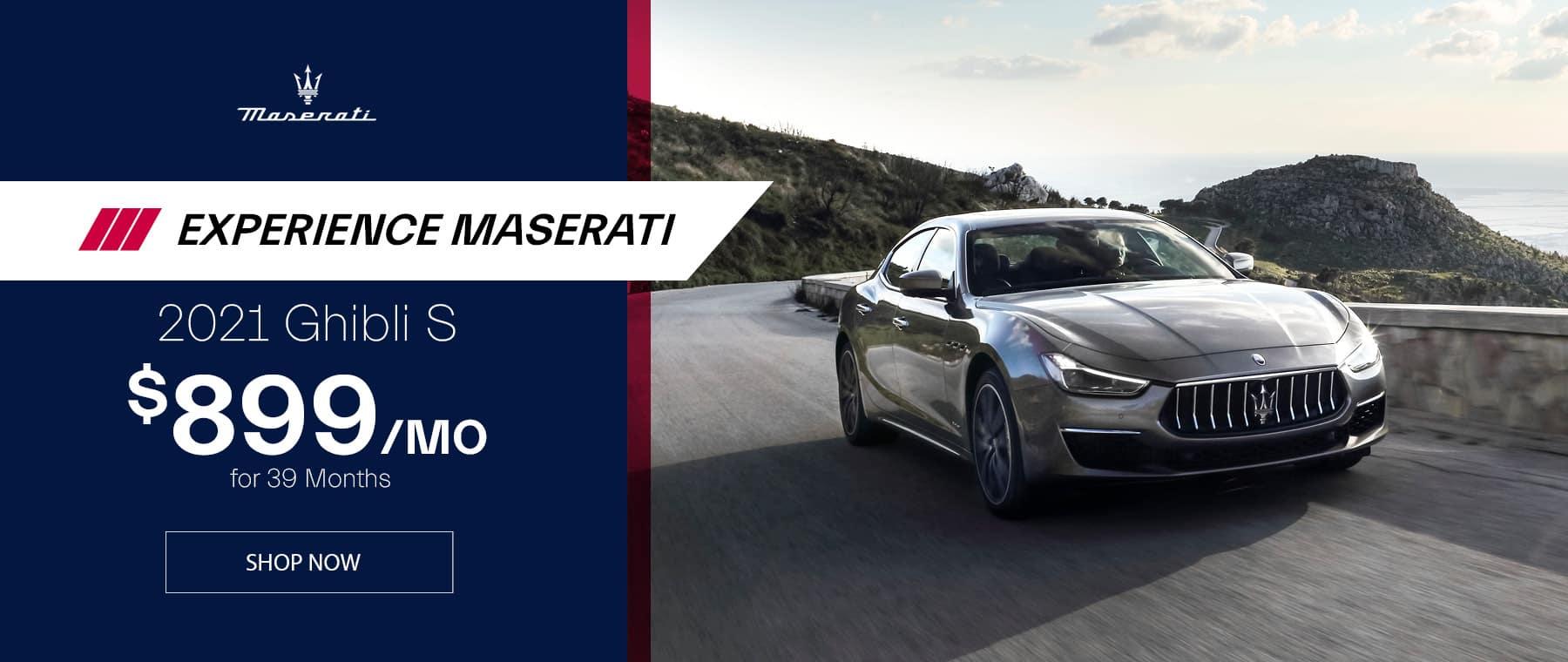 Silver 2021 Maserati Ghibli