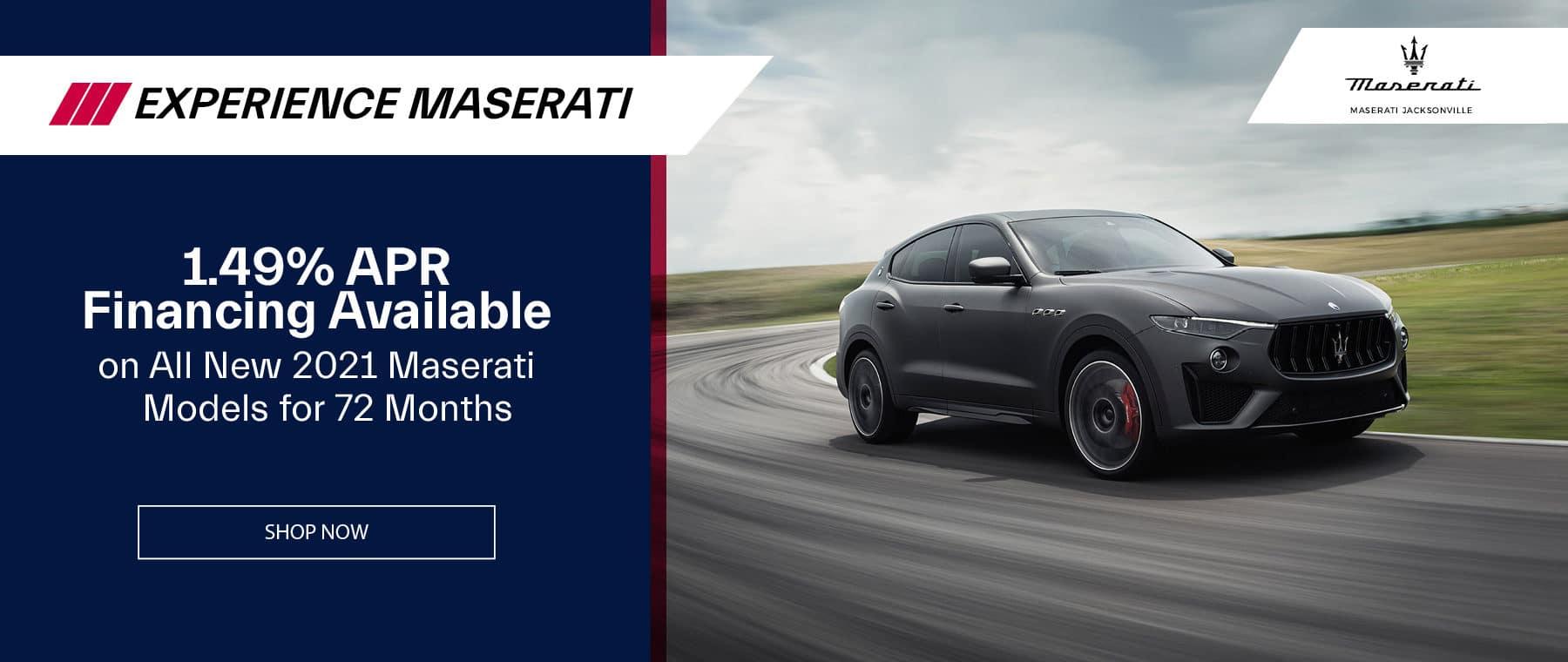 gray 2021 Maserati Levante on open road