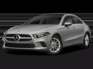 2019 Mercedes-Benz A-Class angled