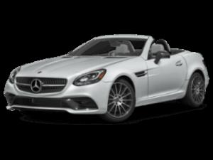 2019 Mercedes-Benz SLC Roadster angled