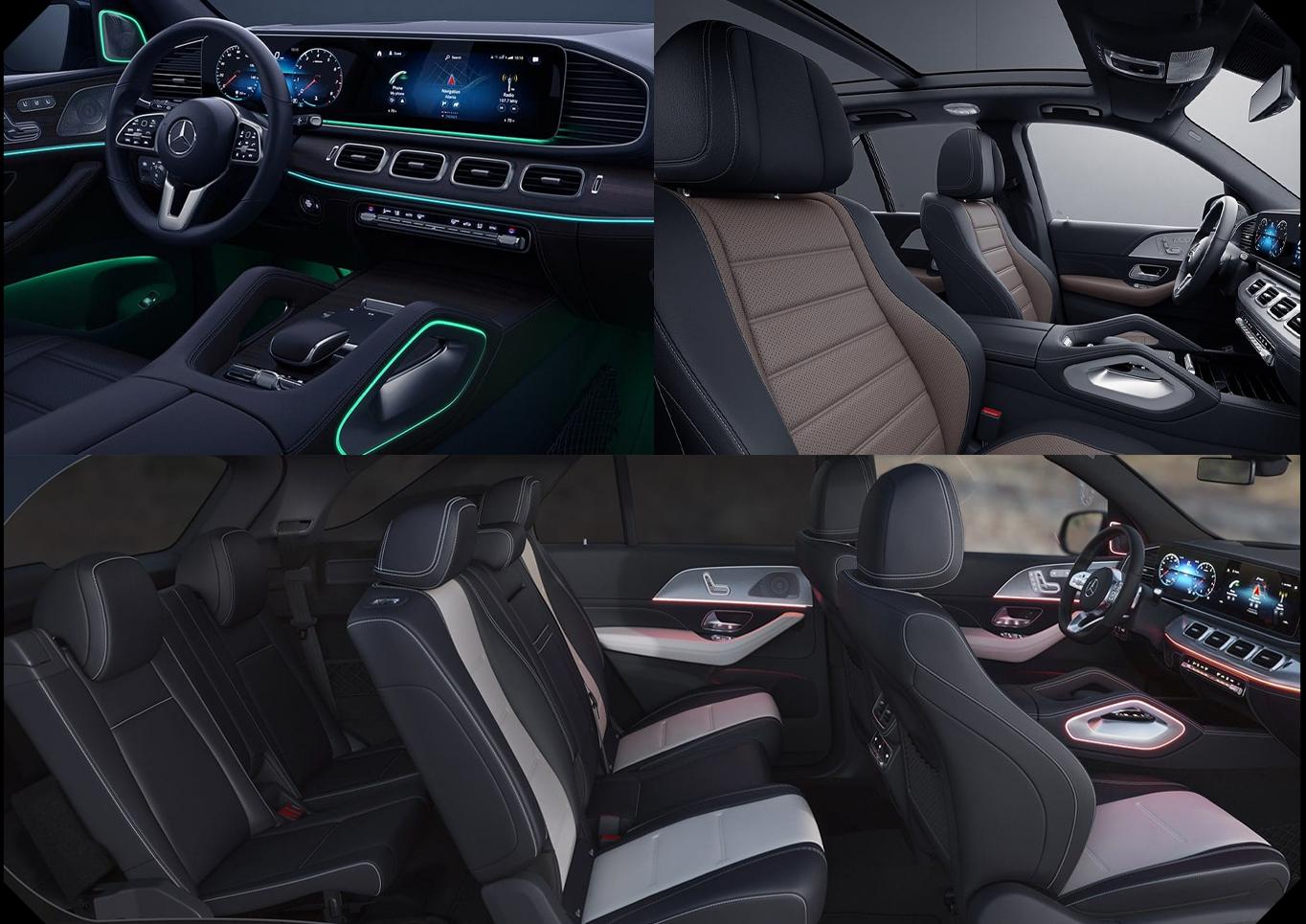 Chicago IL 2020 Mercedes-Benz GLE 450 4MATIC® Interior & Design