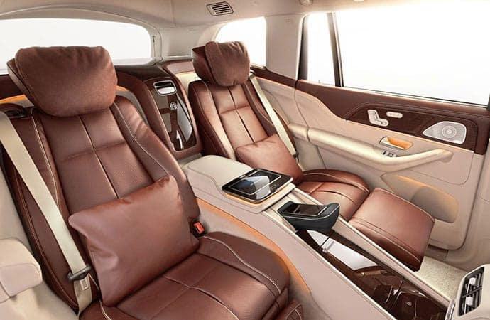 2021 Mercedes-Maybach GLS SUV Interior Features