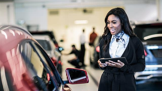 Mercedes-Benz of Orland Park On-Site Vehicle Trade-In Appraisals