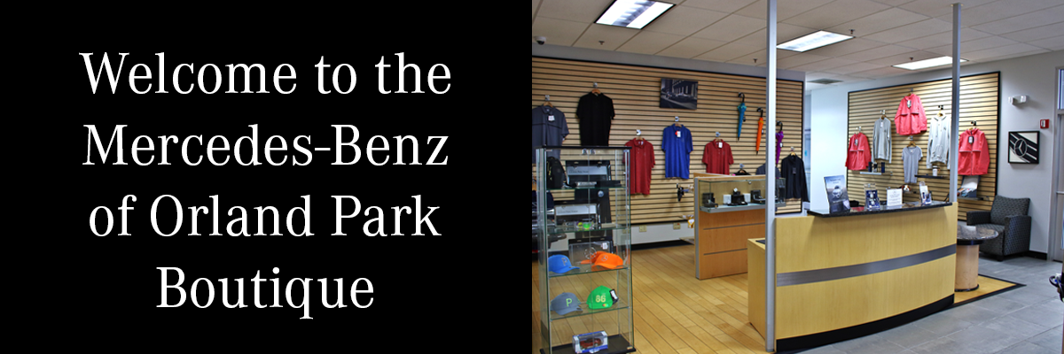 Welcome to the Mercedes-Benz of Orland Park Boutique