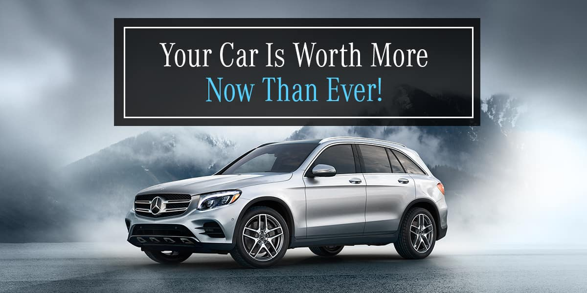 Mercedes-Benz of Orland Park Trade-In Your Vehicle