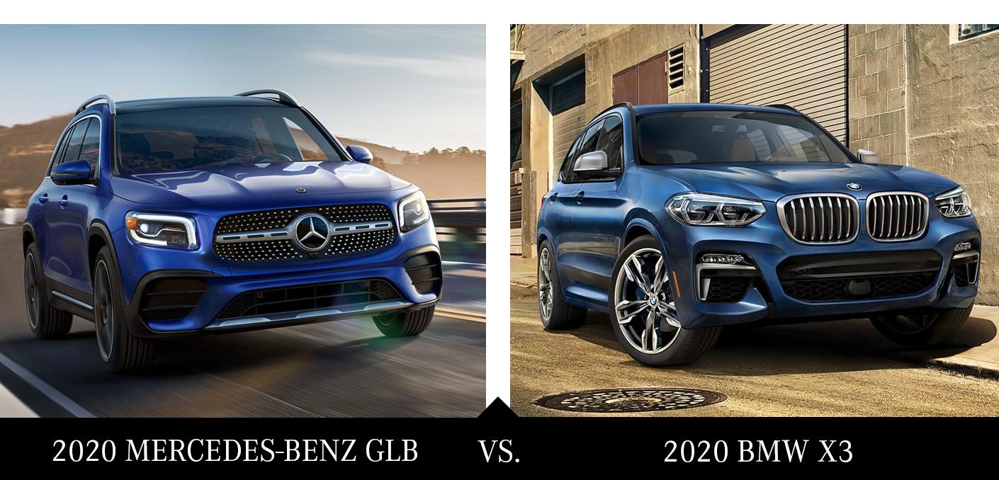 All-New 2020 GLB vs 2020 BMW X3