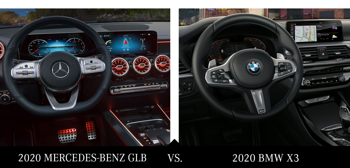 2020 Mercedes-Benz GLB vs 2020 BMW X3 Safety Features