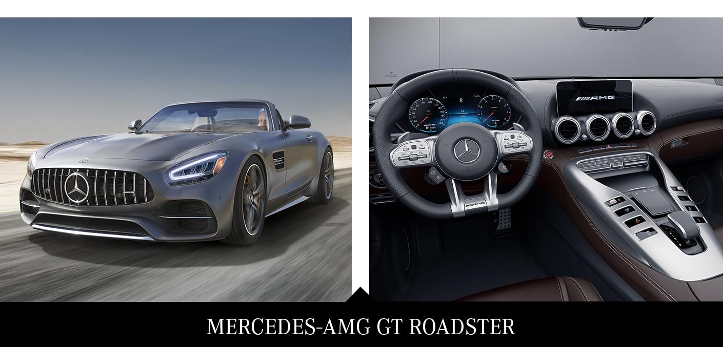 1. 2020 Mercedes-AMG GT Roadster