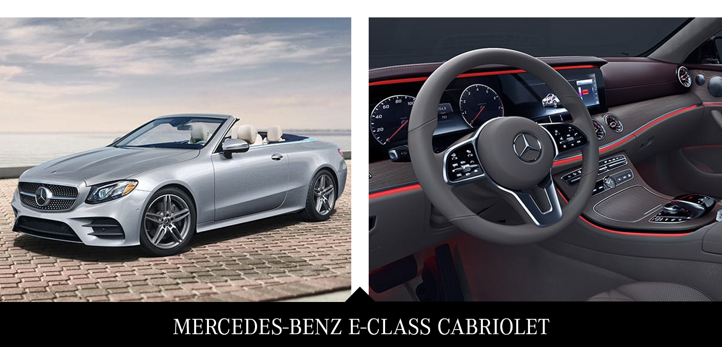 3. Mercedes E-Class Cabriolet