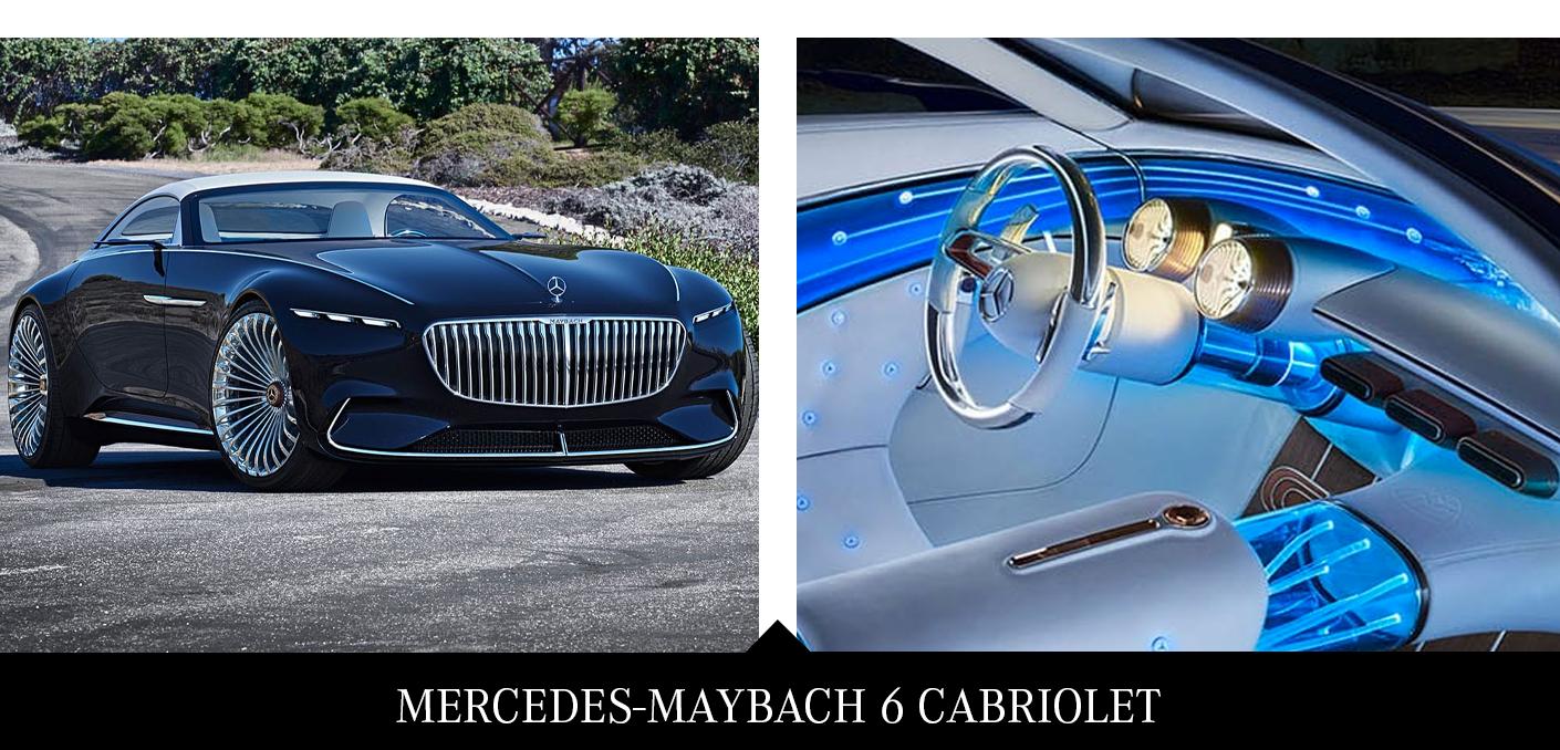 2. Mercedes-Maybach 6 Cabriolet