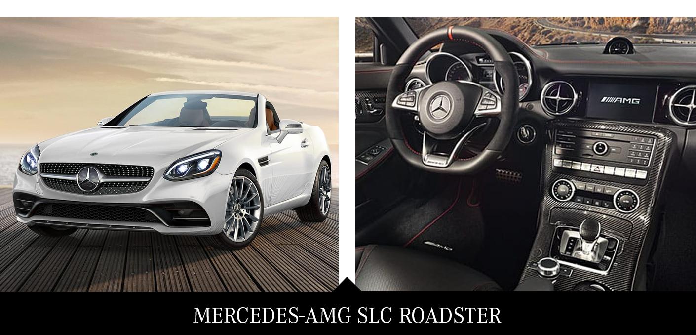 5. 2020 Mercedes SLC Roadster