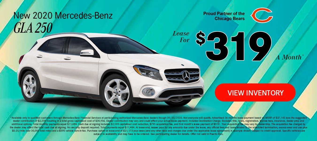 Mercedes-Benz 2020 GLA 250