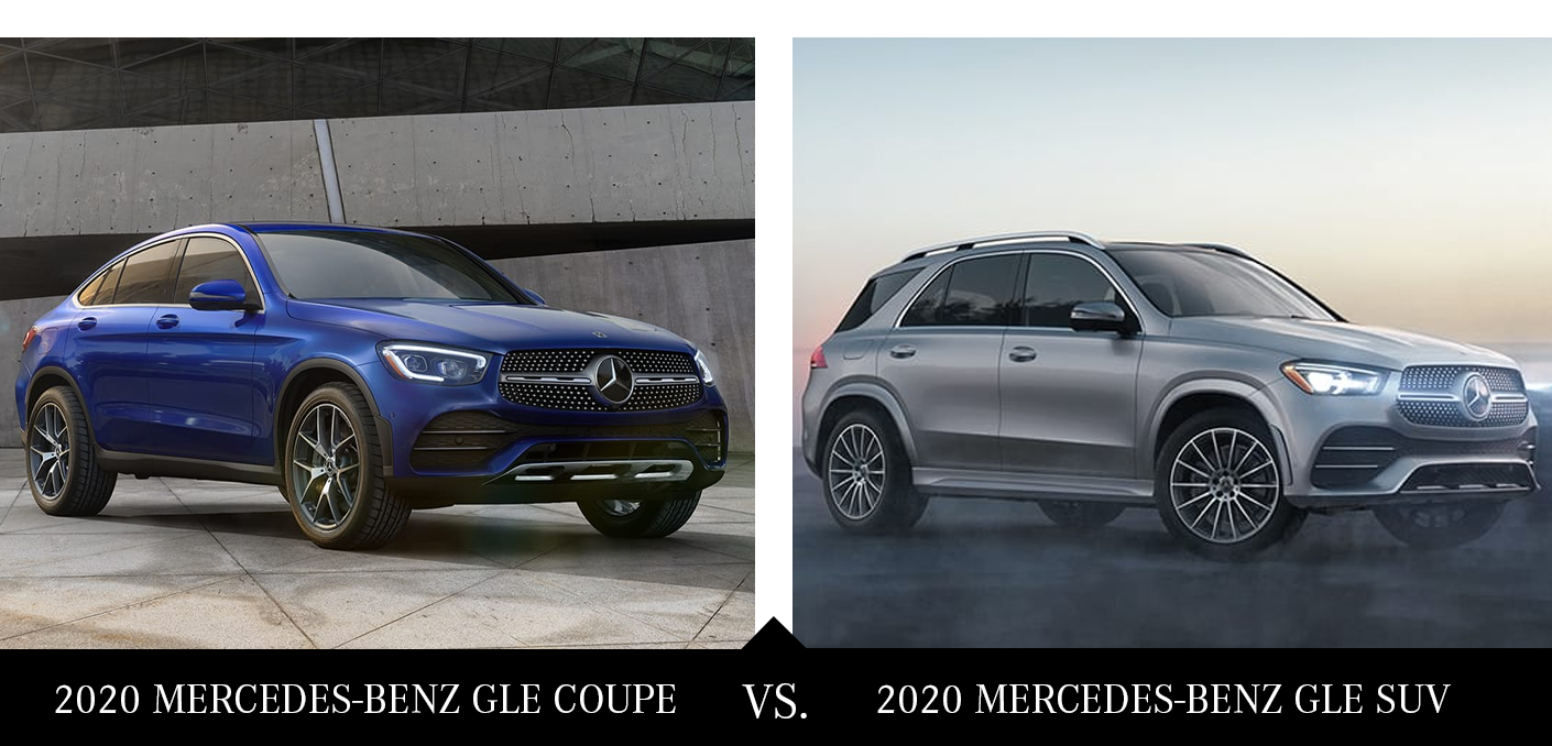 2020 Gle Coupe Vs 2020 Gle Suv Chicago Il