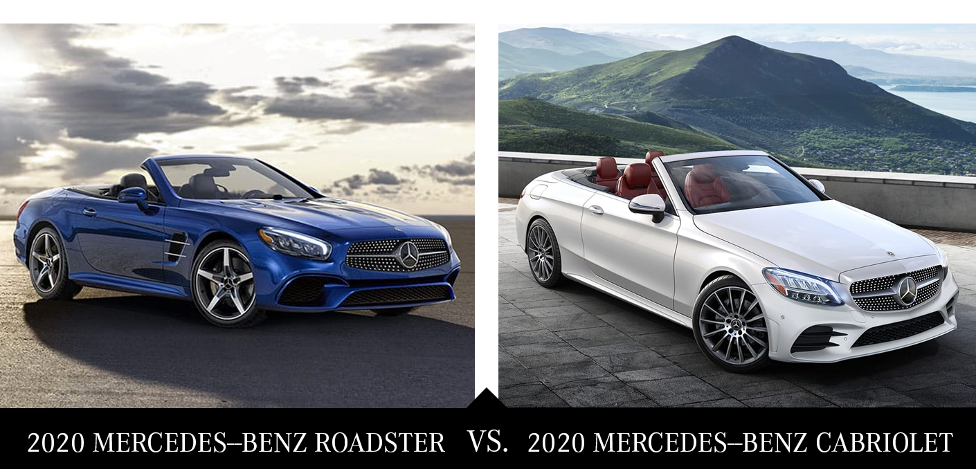 Which Mercedes Benz Convertible Is For You Roadster Vs Cabriolet