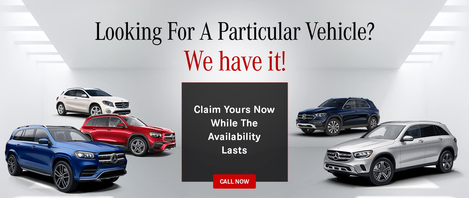 Mercedes-Benz Claim Your Vehicle