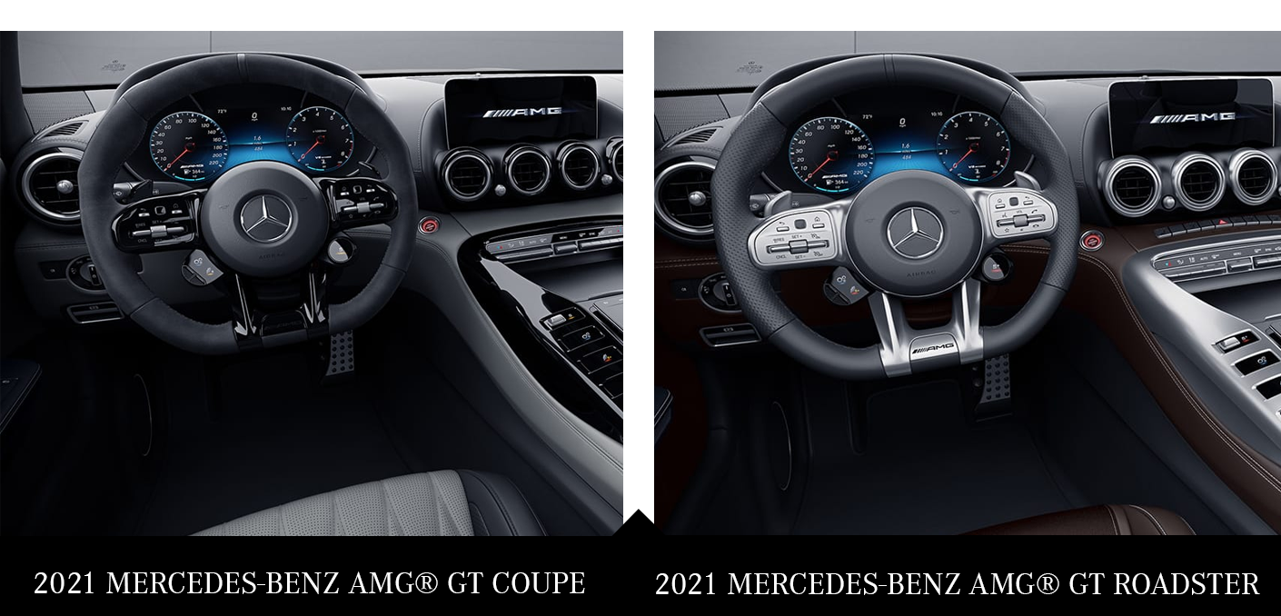 2021 Mercedes Benz Amg Gt Coupe And Gt Roadster