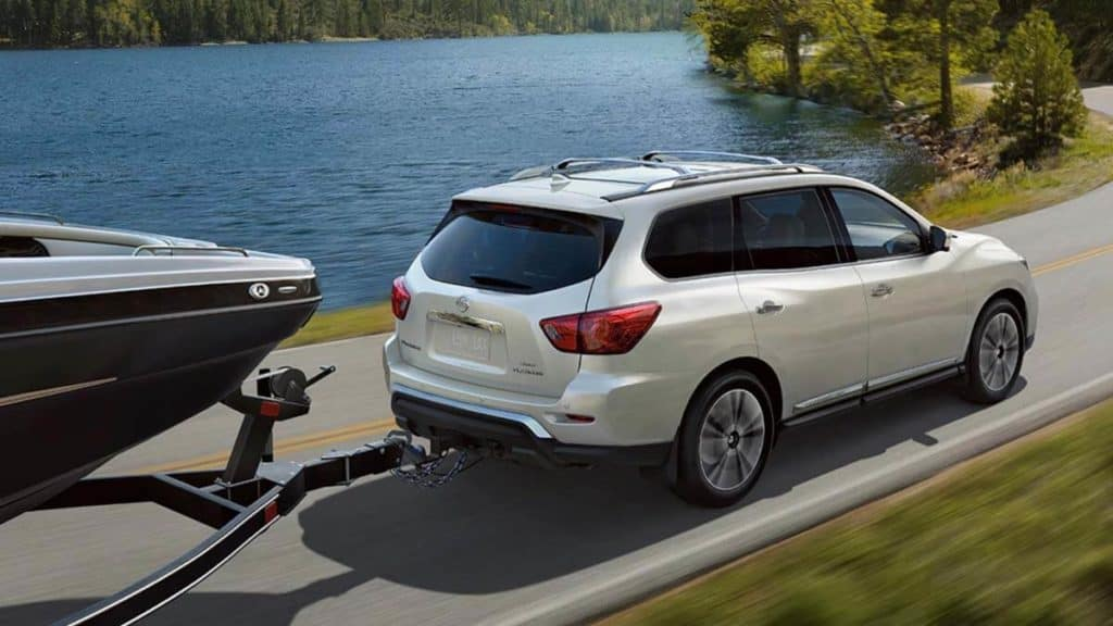 2020 nissan pathfinder towing capability