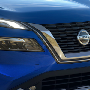20201 Nissan Rogue front grille