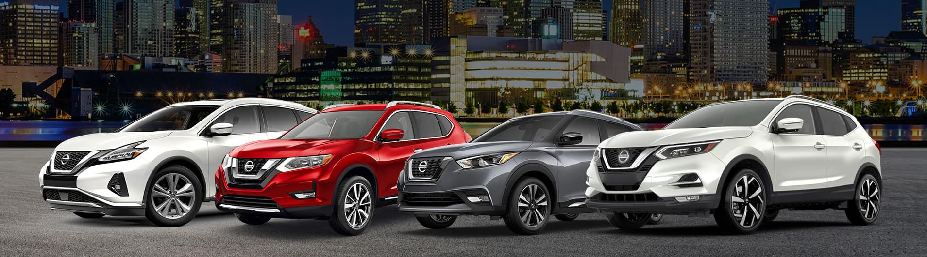 2021 and 2020 Nissan vehicles at Midway Nissan