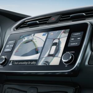 2020 Nissan Leaf backup camera