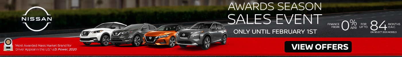 January 2021 Nissan Offers and Incentives at Midway Nissan