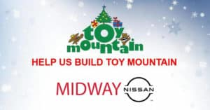 Toy Mountain at Midway Nissan in Whitby