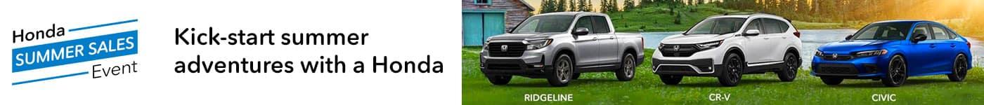 Honda Summer Sales Event