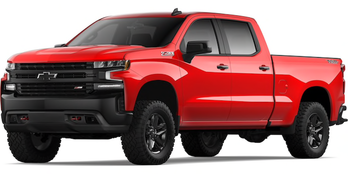 2020 Chevy Silverado 1500 truck for sale at Mission Bay Chevrolet in San Diego