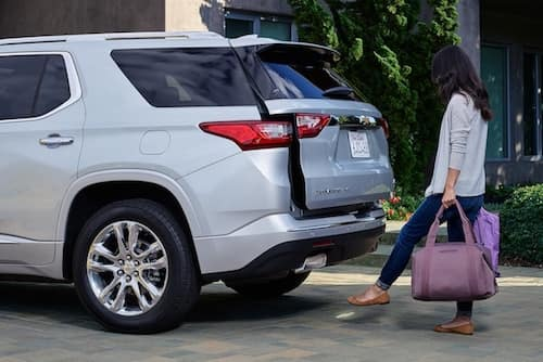 2020 Chevrolet Traverse hands-free power liftgate