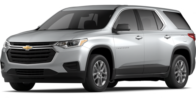 2020 Chevy Traverse LS model suv for sale at San Diego Chevrolet dealership near La Mesa