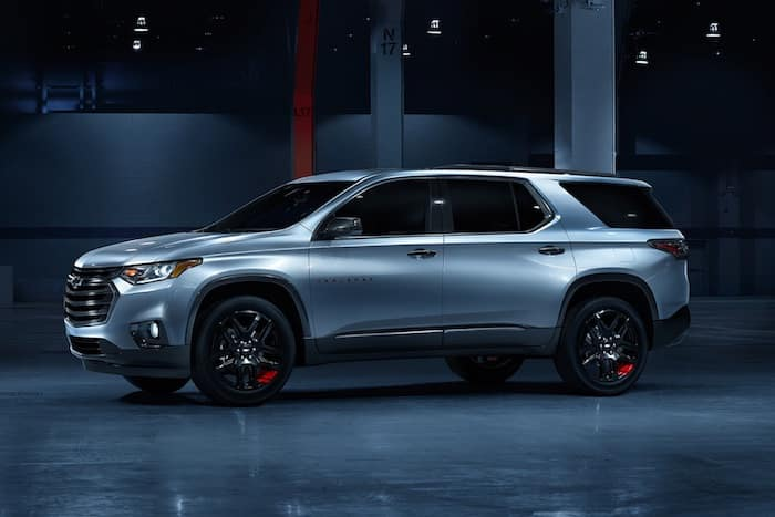 2020 Chevrolet Traverse Redline Edition model