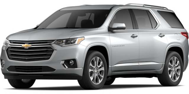 2020 Chevy Traverse Premier model suv for sale at San Diego Chevrolet dealership near Chula Vista