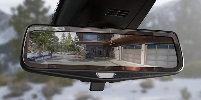 2020 Chevrolet Traverse available rear camera mirror