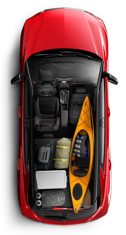 2021 Chevrolet Trailblazer interior design
